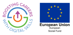 Boosting Careers with Digital Skills project logo