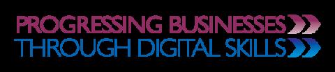 Progressing Business through Digital Skills project logo